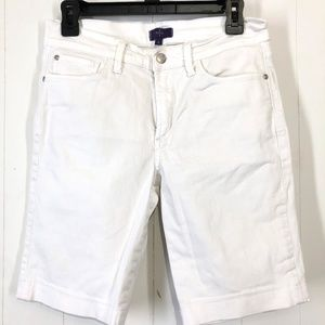 NYDJ Not Your Daughter's Jeans White Shorts ~sz 4